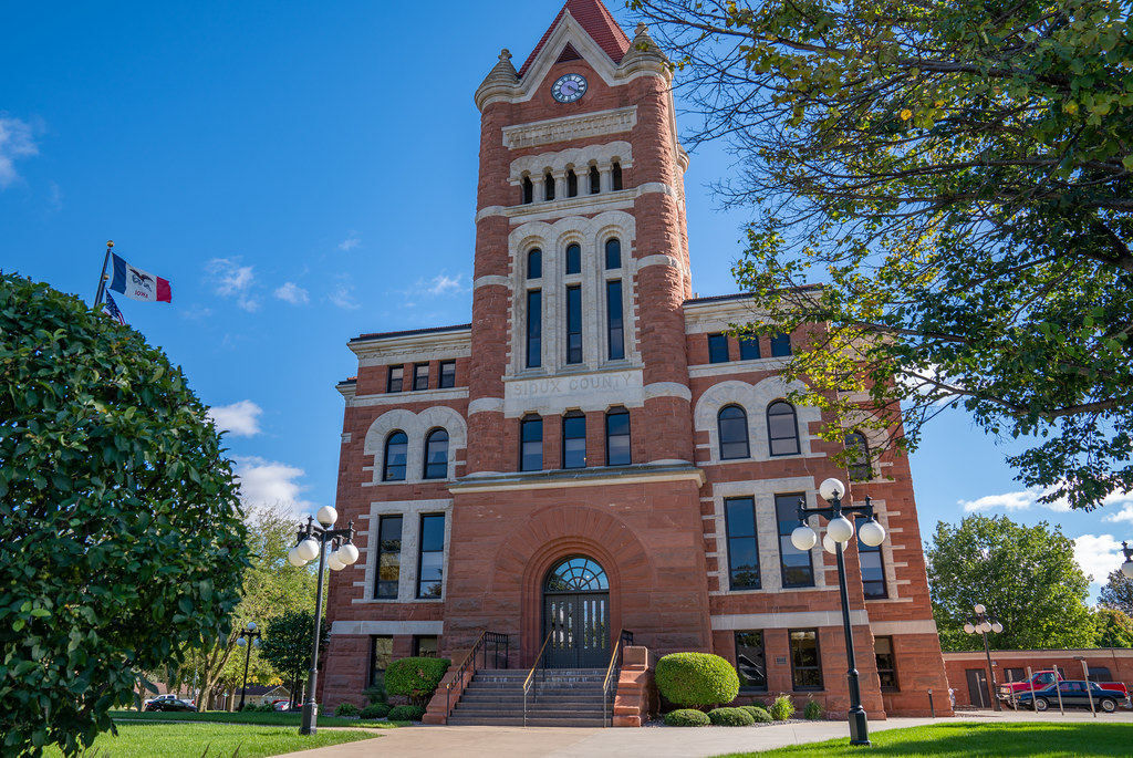 Sioux County Courthouse, Orange City, Iowa