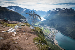 Head For Heights (MBDGE >1.4 Million Views) Tags: loen skylift head for heights maintenance routine hill mountain cliff norway gondola high view green canon landscape