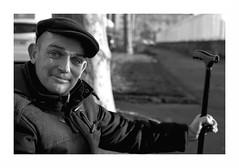 """Street Portrait "" (The Blue Water Lily's Company) Tags: fdrouet nb bw monochrome monochrom film nikon ilford"