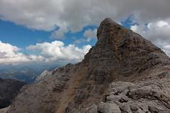 you've got to love it (bkellerstrass) Tags: ödkarspitze karwendel brendelsteig tirol alpen alps austria österreich mountain berg hiking