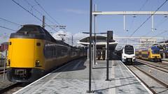 Station Zwolle (Hans Westerink) Tags: zwolle overijssel nederland nl icm koploper keolis blauwnet ddz trein train station railways hanswesterink stadler flirt3