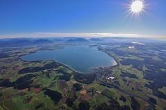 the Lake (Hugo von Schreck) Tags: hugovonschreck chiemsee neumuehle bayern deutschland germany bavaria europe ballooning canoneos5dsr tamronsp1530mmf28divcusda012