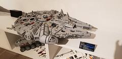 The Falcon landed finally on my shelf. :D (Bl4ck_Liz4rd) Tags: starwars star wars lego moc legostarwars legomoc episodei droid clonewars episode iv juggernaut falcon milleniumfalcon millenium snowspeeder han solo chewbacca 75192