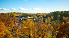 Billnäs bruk (Linus_west) Tags: karis billnäs karjaa pinjainen höst syksy fall autumn orange yellow gul keltainen finland suomi linus westerlund