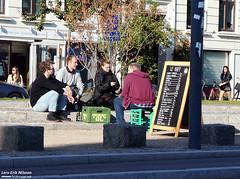 From Sönder Boulevard in Copenhagen (larseriksfoto) Tags: copenhagen köpenhamn sönderboulevard sönder boulevard tuborg sommer summer sommar brittsommar tz90 panasonic lumix streetscene street scene gatubild