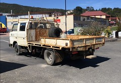 This ex Tasrail and ex West Coast Wilderness Railway gang truck is our newest acquisition. Whilst it looks rough it is mechanically sound. It was driven from Queenstown to Hobart on Saturday 13 October.