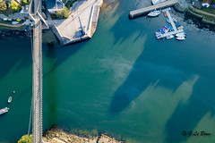 DJI_0024 (gael.lebrun56) Tags: bridge brittany bretagne pont suspendu sea mer marée drone