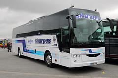 EX18 SON (ANDY'S UK TRANSPORT PAGE) Tags: buses castledonington showbus2018 sharpes