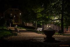 Relaxing (MIKAEL82KARLSSON) Tags: gränna night natt nightshot nightphoto nattfoto småland jönköping polkagris sverige sweden vättern street park sony a7ll samyang 50mm mikael82karlsson