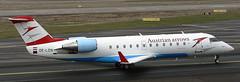 Canadair CRJ-200 OE-LCN (707-348C) Tags: dusseldorf dusseldorfairport airliner jetliner canadair austrianarrows austrian oelcn crj200 crj2 commuter passenger dus eddl germany 2006