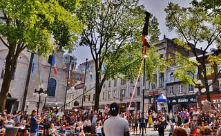 Quebec City Street Performers