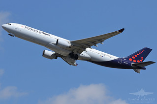 OO-SFW A333 BRUSSELS AIRLINES