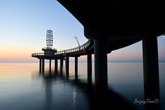 Under The Pier (BergeyTown) Tags: pier burlington lakeontario nikon d500 nikon1680 sunrise