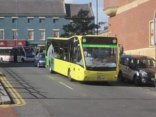 Go North East 5387 (NL63 YAV). Eldon Square Bus Station, Newcastle