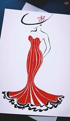 L a d y I n R e d (Cᴇʟɪᴀ'Gʀᴀᴘʜʏ) Tags: drawing painting draw drawingoftheday drawsomething painter paint art artwork artista fashion model france colors savage creative artist original amazing picoftheday lady woman red reddress dress byme