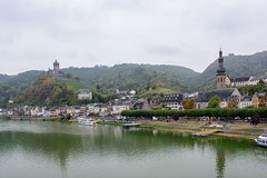 Cochem (grasso.gino) Tags: deutschland germany eifel vulkaneifel nikon d5200 fluss river mosel stadt town häuser houses burg castle kirche church