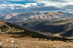 View From The Top (chasingthelight10) Tags: photography events travel landscapes mountains places colorado rockymountainnationalpark spraguelake emeraldlake morainepark bearlake dreamlake trailridgeroad horseshoepark things lakes rockymountainelk forests foliage sunrise otherkeywords autumn aspens trees wildlife estespark landscape