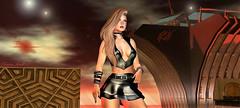 Arrived at the Space Port... (trinana.peach) Tags: blogger blog blogs beauty thedarkness ghee girl lovely model new pretty trinanapeach trinana virtualgirl virtual designer