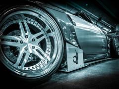 FAIRLADY (Dave GRR) Tags: nissan 350z 370z importfest toronto auto show 2018 monochrome mono olympus bodykit widebody rocketbunny rims