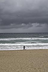 (Lanpernas .) Tags: zurriola playa beach surfer tormenta cielo sky otoño 2018 donostia sansebastián gros gaviota nubes clouds