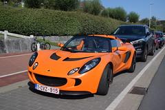 Lotus Exige S2 (D's Carspotting) Tags: lotus exige s2 belgium knokke orange 20170827 1cvz915