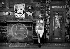 Moonage Daydream (plot19) Tags: david bowie street art manchester liv daughter family love