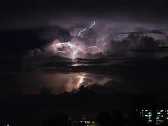 Lightning (Mark V.I) Tags: d3200 nikon nikond3200 night nightshot nightsky clouds nubes longexposure electricidad electricalstorm electric electrical electrico rayos centellas relampago lightning lightningbolt bolt ndcpe