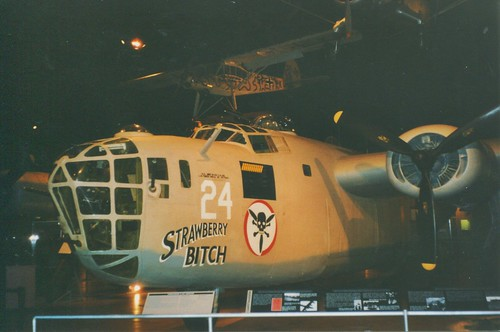 """Dayton Ohio - The National Museum of the United States Air Force - B-24D Liberator """"Strawberry Bitch"""""""