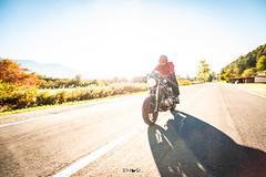 A guy and his bike (em-si) Tags: villach kärnten carinthia austria österreich bike motorrad maschine motorbike shooting herbst autumn speed faakersee nikond800 irix15mm24
