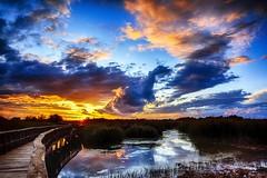 Sunset in National Park (Peideluo) Tags: clouds cloudscape nationalpark sky water nature space landscape cielo nikon d7100