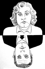 Ed Wood Film Director of Glen or Glenda 2678 (Brechtbug) Tags: ed wood jr director glen or glenda 1953 bride monster 1955 plan 9 from outer space 1959 film movie directors cult classic films movies scifi science fiction stores halloween pen ink illustration portrait portraits 2018 new york city october nyc edward d