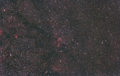 Cave Nebula region (madmiked) Tags: astrophotography dslr cave nebula wideangle star cluster