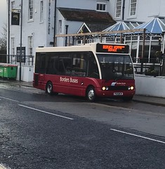 Borders Buses Optare Solo P600WCM 10712 (Daniely buses) Tags: berwickhoppaservice 10712 p600wcm optaresolo westcoastmotors wcm bordersbuses