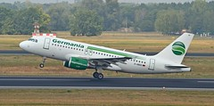 Germania D-ABGO - Airbus A319 (G-RJXI) Tags: germania dabgo airbus a319100 a319 berlin tegel txl eddt