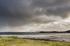 Mellon Udrigle (syf22) Tags: scotland rosscromarty landscape scenic scenery countryside opencountry westofscotland cloudscape clouds moody storm stormy clearing shower changeable cloudy sky cloudysky overcast weather forecast view panoramic