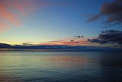 Scarborough sunrise (Pwern2) Tags: sunrise water freshwater greatlakes lakeontario ontario scarborough scarboroughbluffs bluffs toronto rougeriver the6 to highlandcreek nature landscape lake bluehour marina sky