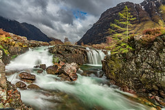 River Coe (Daniel Zwierzchowski) Tags: glencoe scotland river coe uk mountains highlands nature natgeo natgeotravel ngtuk ng landscape landscapephotography outdoor britain sony sonyalpha alpha a7rmk2 a7rii sel24105g sky waterfall mountain water