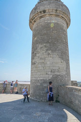 Aigues Mortes (jmarnaud) Tags: france 2018 family summer camargue provence aigues mortes city walk old building people wall