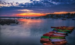 You Are The Dawn That I Wait For (Anna Kwa) Tags: dawn sunrise moment canoes boats harbour rockport massachusetts usa annakwa nikon d750 2401200mmf40 my love wait always seeing heart soul throughmylens heaven untiltheend life journey fate earth destiny round travel world ifonly andreabocelli hope wish faith colorful red green