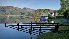 It's that Friday Feeling.. (Harleynik Rides Again.) Tags: fence friday glenelg boat loch water mountains highlands scotland westerross nikondf harleynikridesagain explore