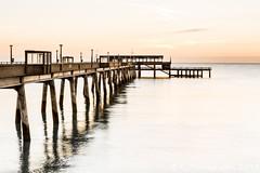 Deal-5 (RJ Photographic (1 million views Thank You)) Tags: 06 09 deal grads kent leefilters nd sun bigstopper longexposure pier seascape soft sunrise water