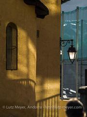 Andorra churches & chapels: La Massana, Vall nord, Andorra (lutzmeyer) Tags: andorra architecture church esglesiasantiscleisantavictoria estiu foto history iglesia juli juliol july kirche lamassanacity living lutzmeyer lutzlutzmeyercom mfmediumformat photo pirineos pirineus pyrenäen pyrenees religion roman sommer sonnenaufgang sortidadelsol summer sunrise vallnord verano
