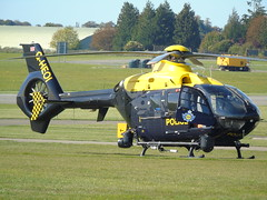 G-HEOI Eurocopter EC-135 (c/n 825) Kemble (andrewt242) Tags: gheoi eurocopter ec135 cn 825 kemble