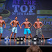 Novice Men's Physique - 4th James Limoges, 2nd 2nd Ryan Maclellan, 1st Steven Boucher, 3rd Lee MacPherson, 5th Dakota Pope