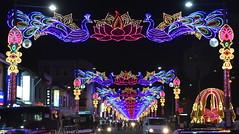 Diwali Singapore Style. (Manoo Mistry) Tags: nikon nikond5500 tamron tamron18270mmzoomlens diwali hindu hinduism diwalicelebration diwalidecor diwalilights lightshow lights streetphotography streetlight festivaloflights
