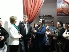 03/10/18 - Visita ao comitê de Gravataí. Com o vereador, Nery Facchin, e a presidente do PSDB Mulher, Simone.