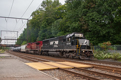 Redemption Monday (Darryl Rule's Photography) Tags: 2018 buckscounty cp csx csxt canadianpacific clouds cloudy diesel diesels emd ethanol fall freight freightcar freighttrain freighttrains ge k602 loaded ns norfolksouthern october pa pennsylvania railroad railroads reading readinglines readingrailroad trel tank tankcar tankcartrain tankcars train trains trentonsub westbound woodbourne