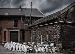 Waste collection (jefvandenhoute) Tags: belgium belgië belgique charleroi dampremy waste decay