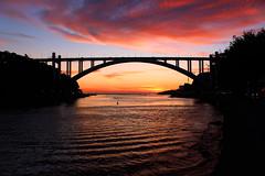 IMG_3338_Edit (Paradoxus097) Tags: porto sunset douro river arrábida bridge