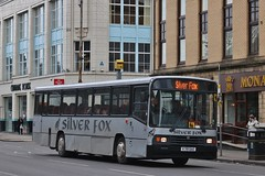 Silver Fox of Renfrew K719 DAO | Bridge Street, Glasgow (Strathclyder) Tags: silverfox silver fox renfrew volvo b10m55 alexander ps k719 dao k719dao bridge street glasgow scotland cumberland 719 stagecoachcumbria 20719 macewan dumfries johnmorrow john morrow clydebankbuscompany dj international djinternational barrhead
